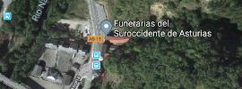 ubicación de Funerarias del Suroccidente